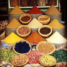 spices from the souk