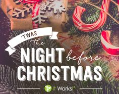 and all through the house not a Wrap Girl was wrappingshe already did ! Both gifts and tummies all have been wrapped! Time to set out Santa's yummy yummy snack! It Works Body Wraps, It Works Distributor, Twas The Night, The Night Before Christmas, Facebook, Nightmare Before Christmas