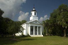 Presbyterian Church on Edisto Island, South Carolina