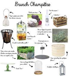idées shopping pour décoration brunch et mariage champêtre, mariage, mariée, decoration mariage, decoration, wedding, nature