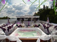 Wedding aboard the Spirit of Jen the biggest and most luxurious River Cruiser on the Vaal River. Rose Bush, Private Garden, Elegant Wedding, Spirit, River, Weddings, Luxury, Outdoor Decor, Home
