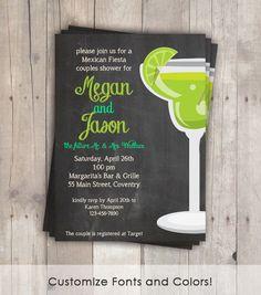 Cinco de Mayo Invitation Margarita Party  by SweetCricketDesign, $15.00