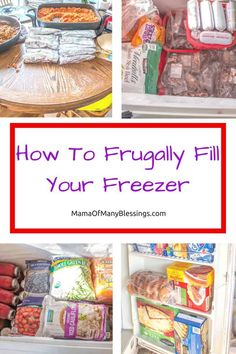 Some tips from a mama who meal plans and freezes 6 weeks worth of meals and snacks. How to frugally fill your freezer! Crock Pot Freezer, Crock Pot Slow Cooker, Freezer Cooking, Cooking Tips, Crockpot Meals, Bulk Cooking, Planning Budget, Meal Planning, Gourmet Recipes