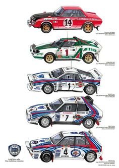 ✩ Check out this list of creative present ideas for beard lovers Sport Cars, Race Cars, Carros Suv, Vintage Cars, Antique Cars, Martini Racing, Lancia Delta, Car Illustration, Illustrations