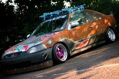 Honda Civic rat
