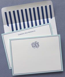 american stationery pacifica correspondence cards