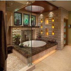 Super awesome bath tub idea. I love this!
