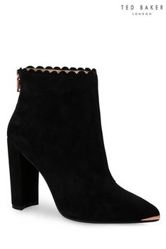 bdfdafbf61aa Buy Ted Baker Black Ofelia Heeled Boot from the Next UK online shop