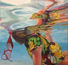 """""""Martina"""", oil on canvas, 110x110cms."""
