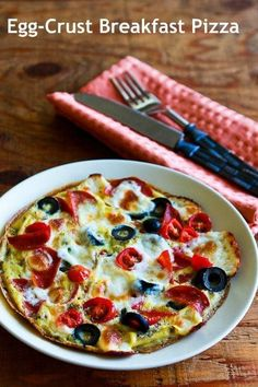 Definition of a no-brainer? Pizza for breakfast. Recipe here.