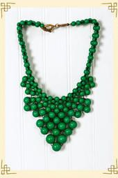LOVE this necklace from Francesca's Collection..must.own.now.- Green Peaks Necklace