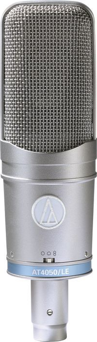 Click Image Above To Buy: Audio-technica At4050 50th Anniversary Multi-pattern Studio Condenser Mic