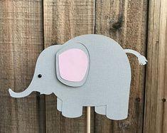 Elephant Centerpieces, set of 4