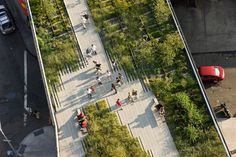 High Line, Section I James Corner / Field Operations, Diller Scoffidio + Renfro. New York, USA. 2009.
