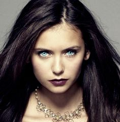 Nina Dobrev - Tatia - Vampire - Blue eyes by ~queenoaty96 on deviantART