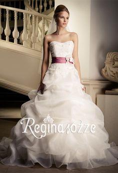 Multistrati Vestito da Sposa Colorati Principeschi Scollo Cuore