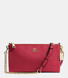 COACH KYLIE CROSSBODY IN EMBOSSED TEXTURED LEATHER | Dillard's Mobile