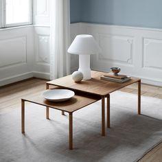 "1,166 likerklikk, 8 kommentarer – Fredericia (@fredericiafurniture) på Instagram: ""Elegance and refined detailing - Piloti tables designed by Hugo Passos. #fredericiafurniture…"""