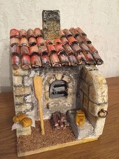 Fun Crafts, Diy And Crafts, Crafts For Kids, Paper Crafts, Fairy House Crafts, Fairy Houses, Christmas Flowers, Christmas Decorations, Mini Fairy Garden