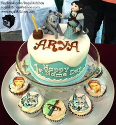 Happy Name Day Arya! | Project-Nerd  best birthday cake ever!!!