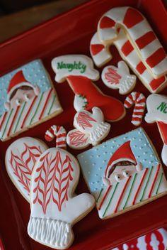 ELF PARTY  elf cookies