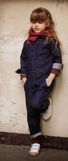 Louis Louise winter 2014 dungaree