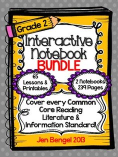 Bundles are available for grades 2-5. Cover ALL grade 2 Reading Informational and Reading Literature Common Core State Standards with this bundle! ($)