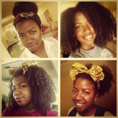 Ify // 3C/4A Natural Hair Style Icon | Black Girl with Long Hair