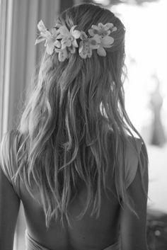 Semirecogido con flores, espectacular! Con mis #MIGFlores puedes conseguirlo...