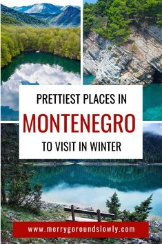 Best Places to Visit in Montenegro Off-Season – Best Europe Destinations Montenegro Travel, Montenegro Budva, Places In Europe, Europe Destinations, Europe Travel Guide, Travel Guides, Winter Travel, European Travel, Travel Around The World