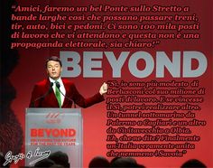 Ideateatro: Renzi: farò il Ponte sullo Stretto a bande larghe