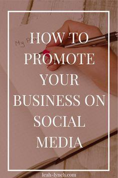 How To Promote Your Business On Social Media – business marketing ideas Digital Marketing Logo, Social Media Marketing Business, Facebook Marketing, Content Marketing, Affiliate Marketing, Marketing Website, Marketing Services, Marketing Ideas, Marketing Calendar
