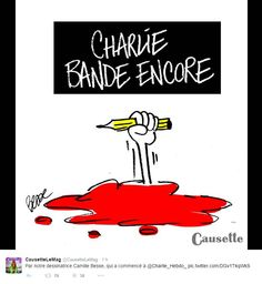 #jesuischarlie causette