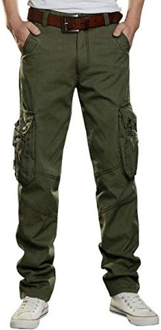 """2 pairs GENUINE ARMY PANTS 70cm waist 28/"""" GREEN used cargo fatigues x 2"""