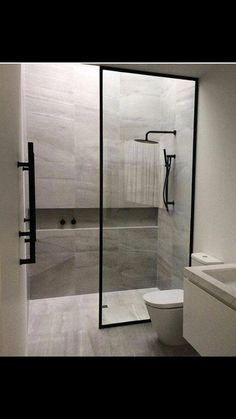 Beautiful shower room remodel and also complete transformation to this dream bath! Restroom Improvement Ideas: shower room remodel expense, bathroom suggestions for little shower rooms, tiny washroom layout concepts. Bathroom Layout, Bathroom Interior Design, Modern Bathroom, Master Bathroom, Bathroom Ideas, Master Baths, Restroom Ideas, Minimalist Bathroom, Budget Bathroom
