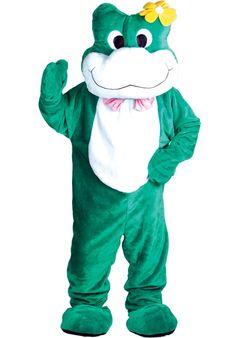 Mascot Frog Costume