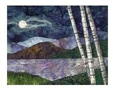 ... from traditional or geometric quilts into landscape quilting