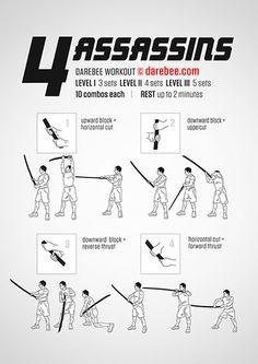 4 Assassins Workout