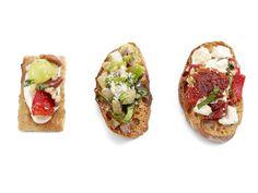 Olive Bruschetta Recipe : Robert Irvine : Food Network - FoodNetwork.com