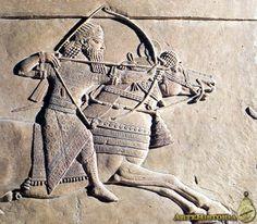 Palacio de Asurbanipal (Nínive, Iraq). Escena de cacería.