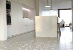 Cement tiles - Project De Coninck - Kitchen