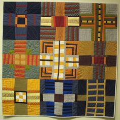 Striped Amish by Pam Rocco, 2014 Amish: the Modern Muse, SJ Quilt Museum
