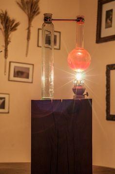 "Lampa ""Alchemika"" w Art Wood Kawkowo na DaWanda.com Lighting, Etsy, Home Decor, Decoration Home, Room Decor, Lights, Home Interior Design, Lightning, Home Decoration"