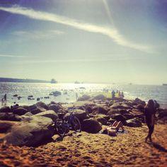 Third beach. Summer's here.