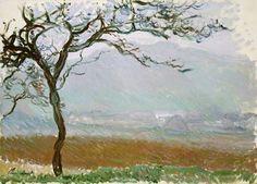 Titulo de la imágen Claude Monet - Landschaft bei Giverny.