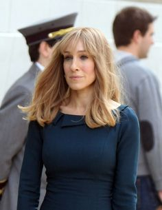 Although this might not be our all-time favorite look from Parker, the fringed look is most definitely a memorable one—even if Did You Hear About the Morgans? was not. // Sarah Jessica Parker's Best Hair Moments