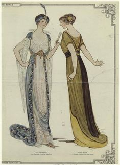 New Pattern # 1517 - Edwardian dinner dresses - construction explained