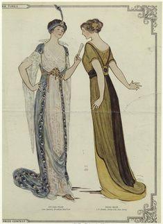 The Costume Parlour: 1910s ballgown