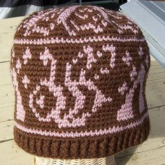 This pattern is great for the Adventerous Beginner! Using 2 colors of DK or Sport weight yarn. Pattern includes instructions for 3 sizes which change with hook size.