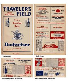 Vintage Traveler's Field Arkansas Travelers vs Indianapolis Unscored Scorecard . $30.00. Vintage Little Rock Arkansas Travelers ScorecardTraveler's Field Home Game with Budweiser AdvertisementScorecard is Unscored.GREAT AUTHENTIC VINTAGE ARKANSAS TRAVELERS BASEBALL COLLECTIBLE!!